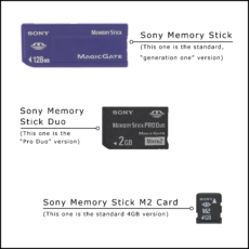The Video Copy Company Memory Cards Memory Stick