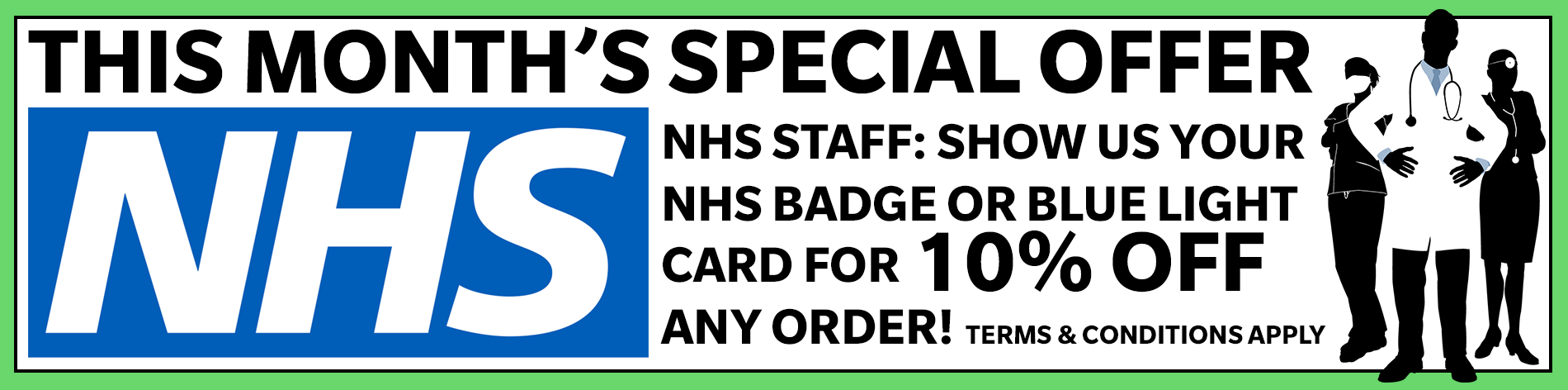The Video Copy Company Monthly Offer NHS