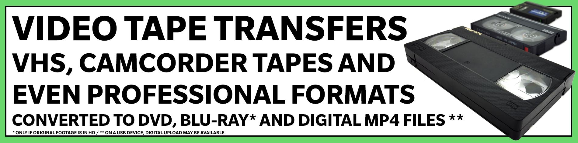 The Video Copy Company Video Transfers